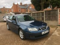 SAAB 9-3 LINEAR SE 4DR, FULL SERVICE HISTORY, JUST SERVICED WITH FRONT NEW DISC AND PADS,DRIVES WELL
