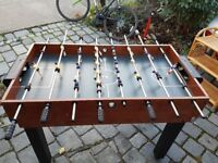 Multi Games Table with pool, football, table tennis, air hockey, and other games