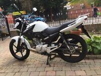 YAMAHA YBR125 -2015 BIKE IS SPOTLESS ONLY 1200 MILES FINANCE IS AVAILABLE