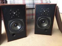 Vintage Monitor Audio speakers