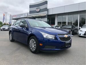 2012 Chevrolet Cruze Bluetooth, 5 Speed Manual, Langley