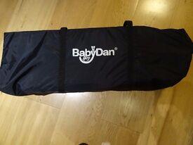 Baby Dan Large Travel Cot Black