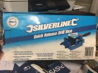 """New 4""""/100mm quick release drill vice"""