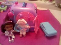 Doc mcstuffins mobile clinic with doc and lamby