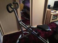 Aerobic rider exercise machine