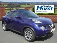 Nissan Juke TEKNA DCI (blue) 2016-03-31