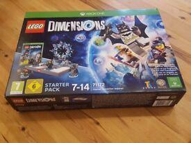 Lego Dimensions Starter Pack Xbox One New Sealed 71172 Batman Gandalf Portal Game