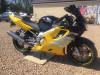Honda CBR600f motorbike, nice example ofbthis bike, heated grips, 2 keys. Mot until August 2018