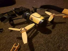 Parrot Bebop Drone and skycontoller, with backpack