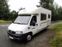 McLouis Lagan 261 4 berth motorhome with rear fixed bed for sale