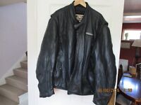Harley Davidson FXRG Leather Jacket 4XL-Superb condition