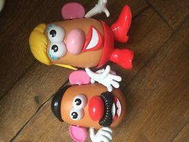 Mr & mrs potato head