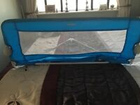 Toddler/baby bed guard