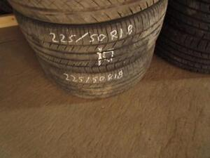 225/50R18 USED 2 ONLY GOODYEAR TIRES