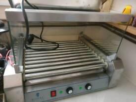 Hot dog cooker/warmer