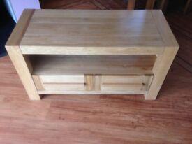 Solid Oak Furniture Land TV Cabinet