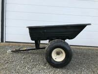 Trailer for Ride on Mower quad atv
