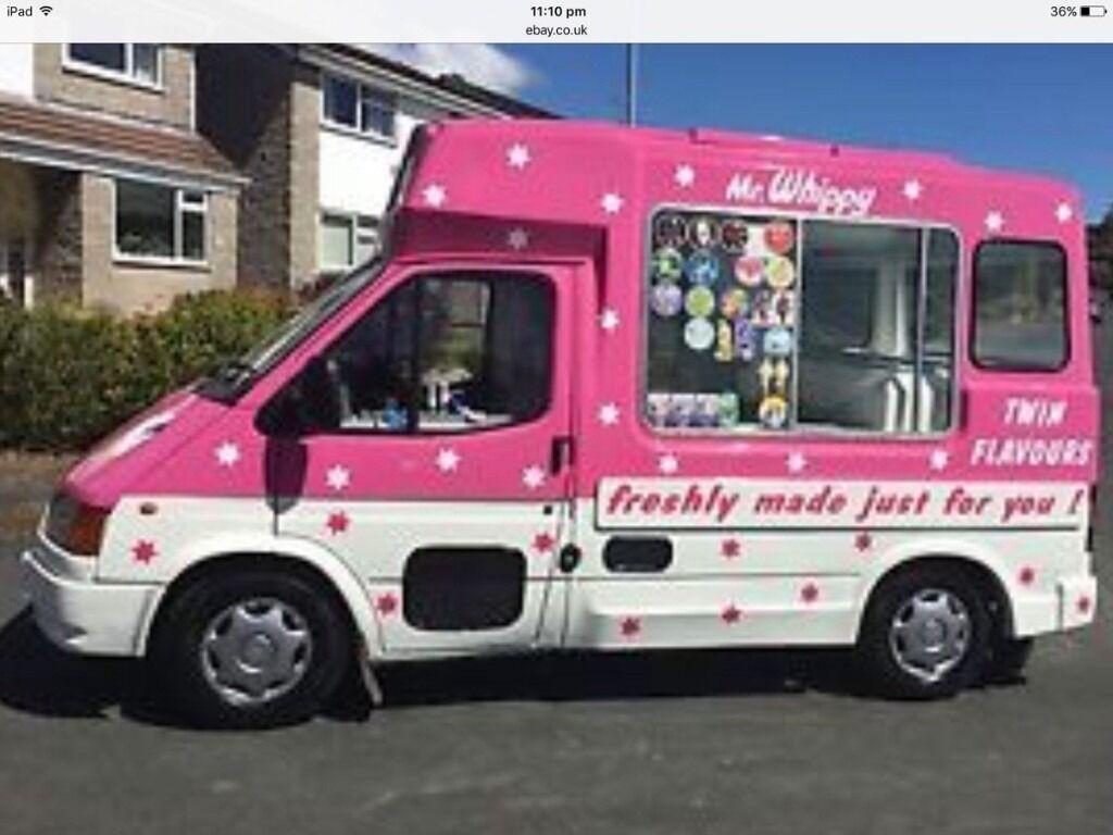 Ice Cream Food Truck For Sale Uk
