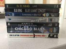 The Blues Guitar Legends 12 DVD Collection including BB King and Buddy Guy