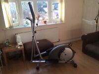 Nearly New Cross Trainer (only been used a couple of times)