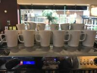 Various 12oz and 16oz Cafe hard wearing mugs