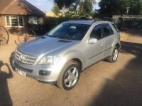 MERCEDES ML 280 CDI S !!!!! £7250 ONO MUST GO !!!! CALL NOW!