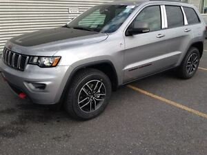 2017 Jeep Grand Cherokee Trailhawk +Cuir, Bluetooth, Hitch+