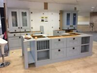 New and wrapped Laura Ashley Kitchen, just add sink and worktop £11K new £3K ono