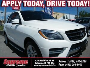 2013 Mercedes-Benz M-Class ML350 BLUETEC 4MATIC NAVI/B.CAM/FLAWL