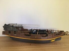 LARGE CHILDRENS PIRATE SHIP