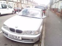 Spare or Repair - BMW E46 320Ci 2002 Silver Auto 2 Doors