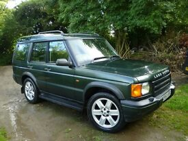 Land Rover Discovery TD5 7 Seater low mileage. 10 month MOT