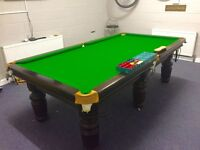 8 x 4 foot slate bed snooker table
