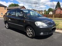 TOYOTA AVENSIS VERSO AUTOMATIC, 56K, 1 OWNER, FULL SERVICE HISTORY, 2 KEYS, AUX USB, AUTO 7 SEATER