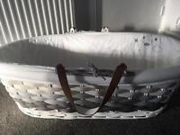 Moses Basket and Stand - Unisex