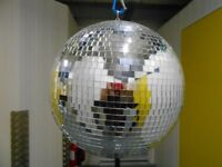 Mirror Ball and Motor