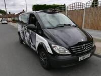 Mercedes vito london taxi