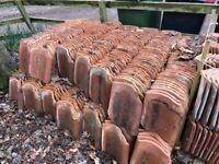 Reclaimed Clay Roof Tiles (Approximately 500)
