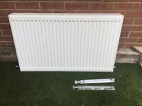 Double radiator 1m x 60cm