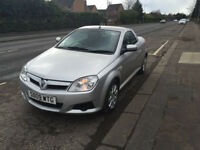 "Vauxhall tigra 1.4 twinport 2009""09"" silver with black trim ,alloy wheels"