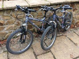 """2 Dawes Bikes 13"""" frame 20"""" wheel"""