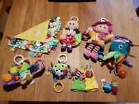 Lamaze and Bright Stars Baby Toys for sale