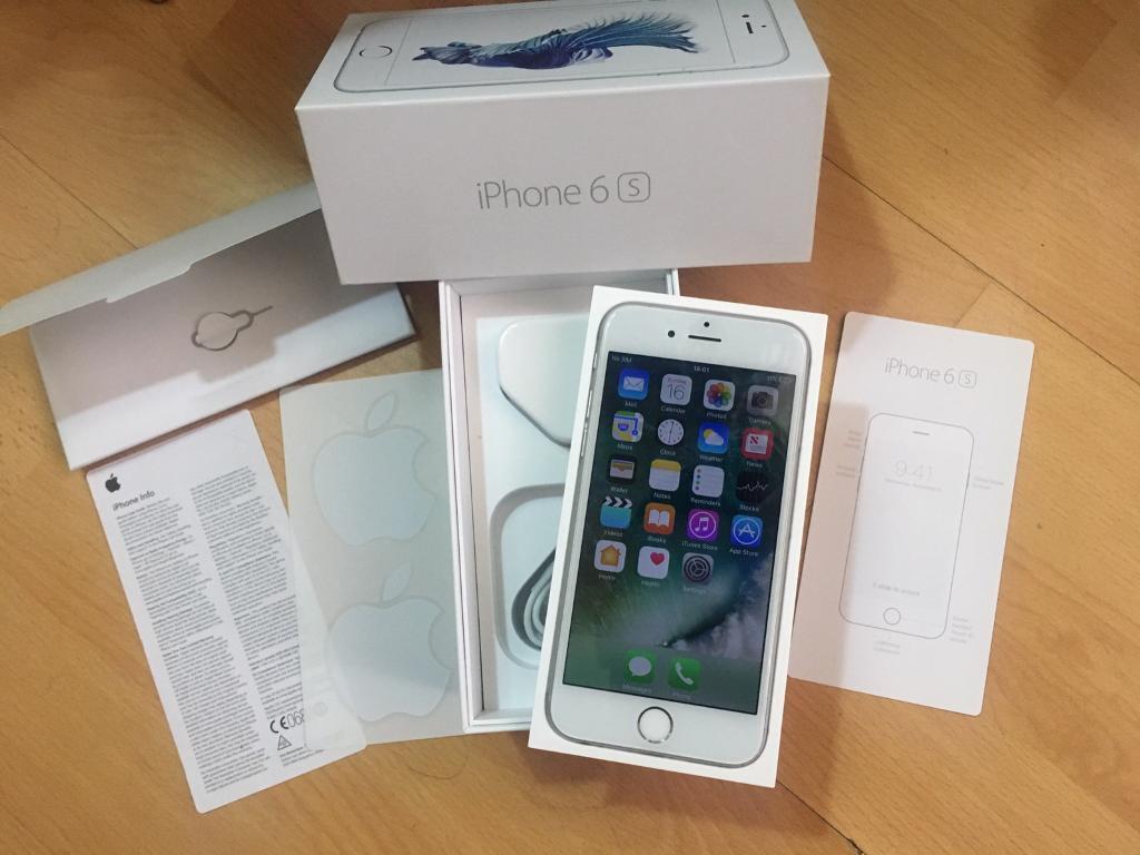 Apple iPhone 6s 16gb silver Vodafone boxedin Newcastle, Tyne and WearGumtree - Apple iPhone 6s silver 16gb Vodafone and lebara network, 3 months old and has Apple warranty till next year feb 2018 comes with the box and accessories