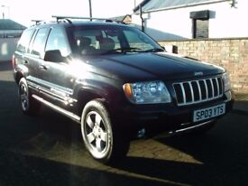 2003 03 Jeep Grand Cherokee 2.7 CRD auto Limited 4x4 ** DIESEL AUTOMATIC **