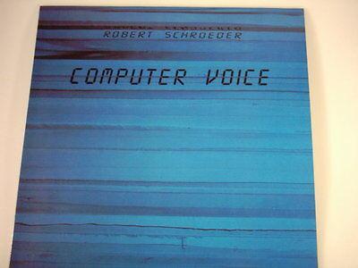 """Schröder, Robert - """" Computer Voice"""" ,LP, Neuware"""