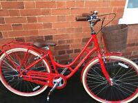 Raleigh Spirit ladies hybrid bike