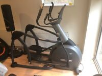 used elliptical cross trainer, Vision Fitness HRT S7200, heart rate, incline and resistance