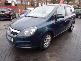 GREAT VALUE 7 SEATER ZAFIRA, BE QUICK FOR THIS ONE!!