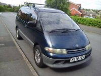 1995 Toyota Estima low milage for it's year, cam belt water pump radiator all done 12 months mot
