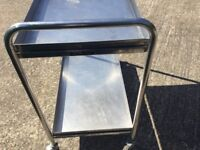 Stainless Steel trolley 2 tier